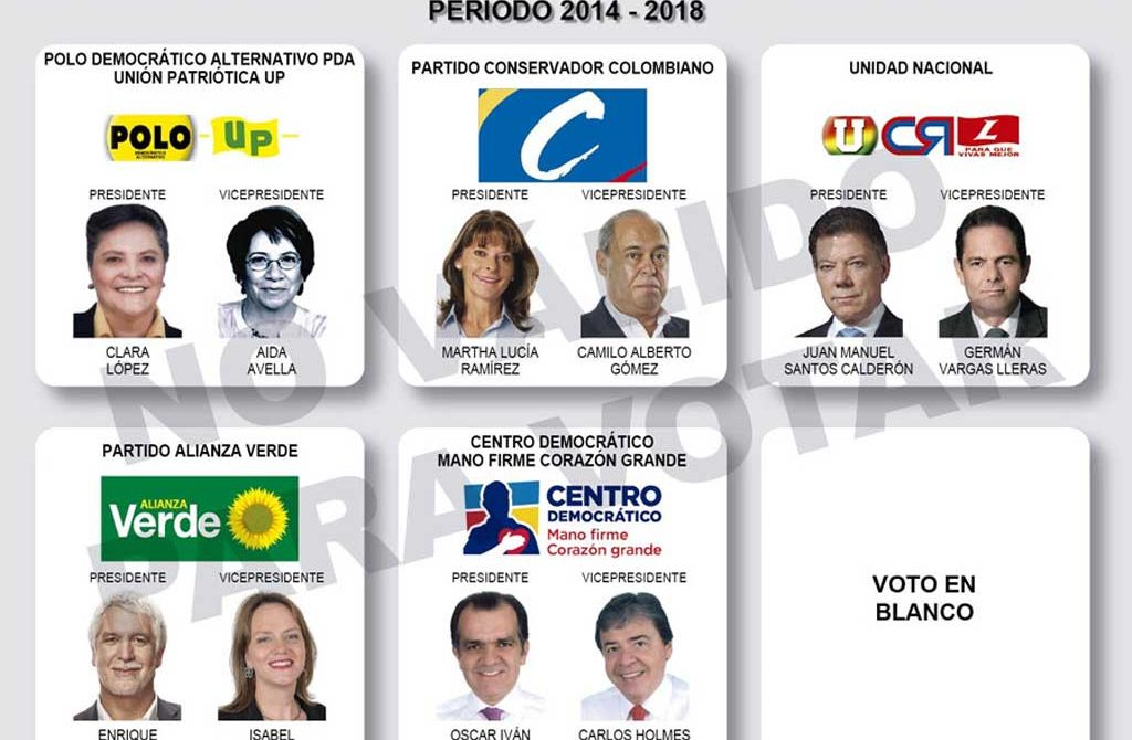 Se imprimirán más de 30 millones de tarjetones para las elecciones presidenciales que tendrán un costo aproximado de 570 mil millones de pesos.