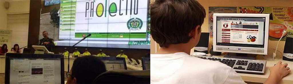 Policía pretende garantizar la navegación en Internet a los niños.