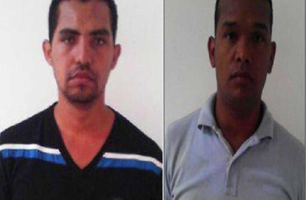 Los delincuentes corresponden a los nombres de Eduardo José Ustariz Montes, alias 'José', y Jeiber Arturo Barrera Díaz, alias 'ojitos'.