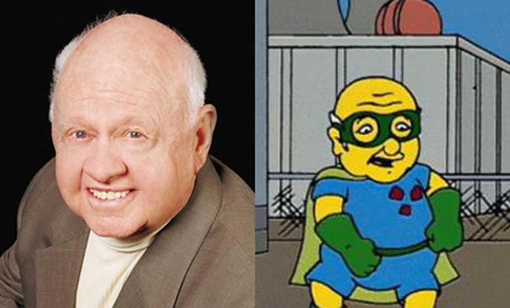 Ganador del premio Óscar honorífico en 1982, participo en la seria amarilla más famosa The Simpsons