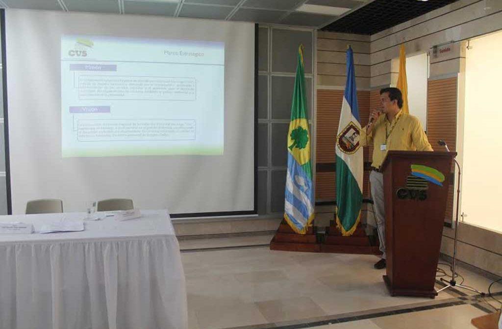 Subdirector de Planeación de la CVS, Camilo Mejía Padilla.