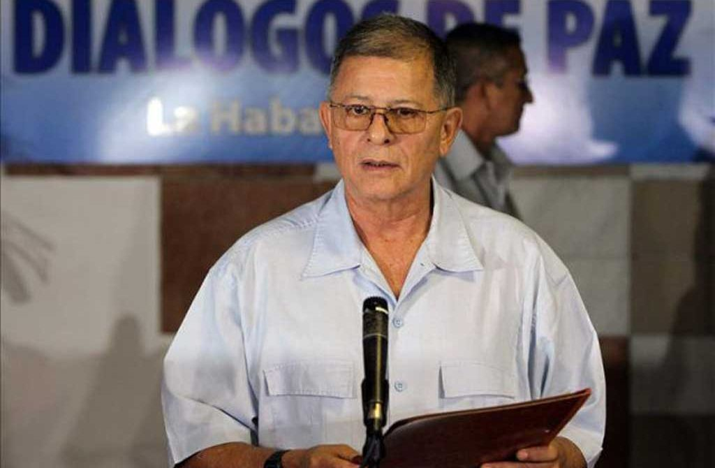 """Las Farc no estamos promoviendo el paro campesino: """"Rodrigo Granda""""."""
