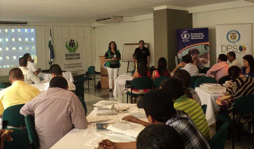 Icbf brinda asistencia alimentaria a v ctimas del for Comedores escolares en colombia