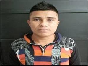 """Presunto cabecilla de la banda criminal """"los Urabeños"""", que atemorizaba la zona del alto San Jorge."""