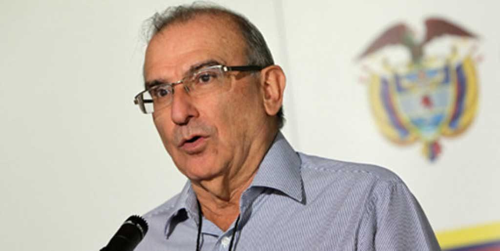 Jefe negociador del Gobierno en La Habana, Humberto de la Calle.
