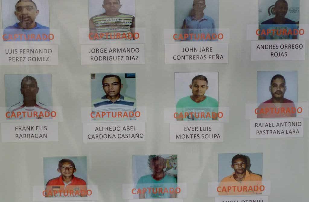 Aprehendidos 12 delincuentes en Operación Dignidad I, en Córdoba