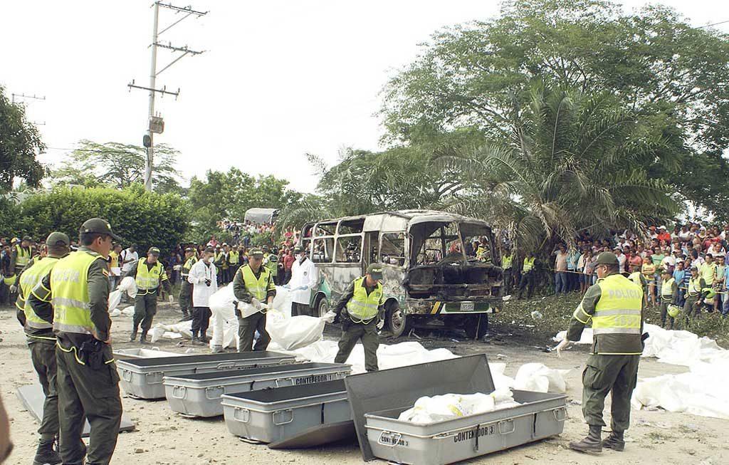 Tres días de duelo decreto la alcaldía de Fundación, tras este aparatoso accidente.