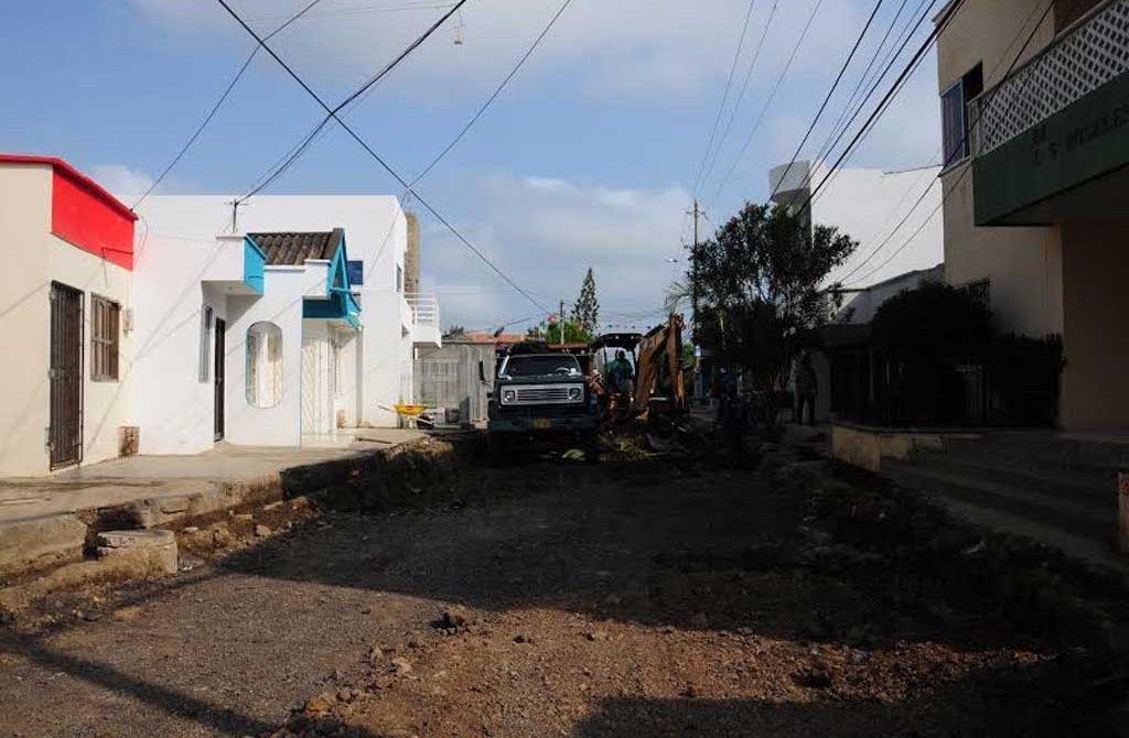 La primera calle de este sector de la ciudad, vuelve a resurgir por la Administración Municipal