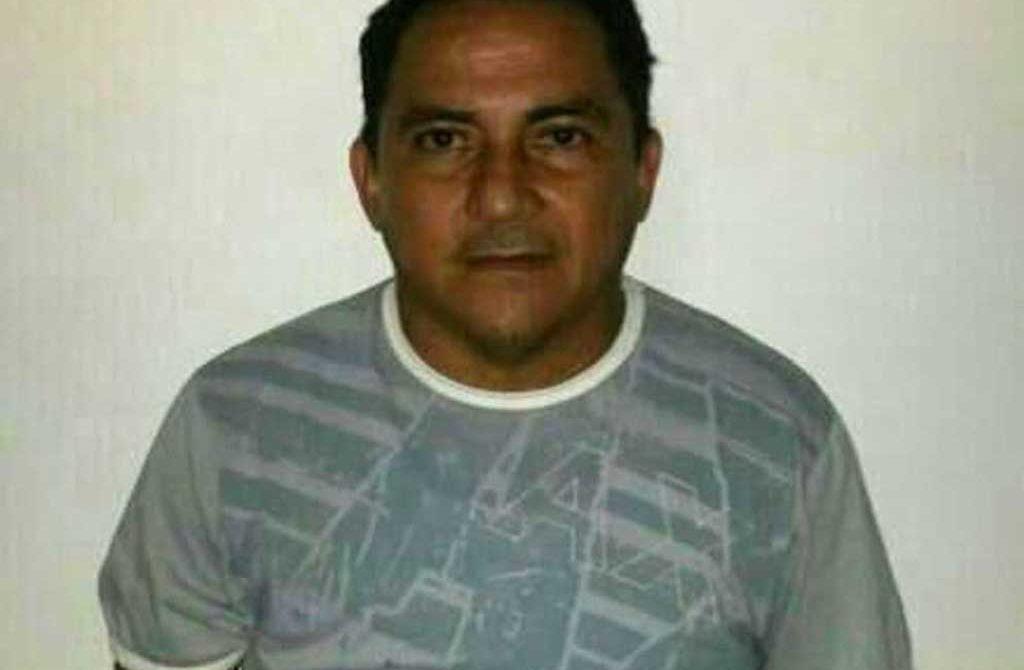 """Antonio Gonzales Gonzales, alias """"Toño"""", capturado por la Policía en el centro de Montería."""