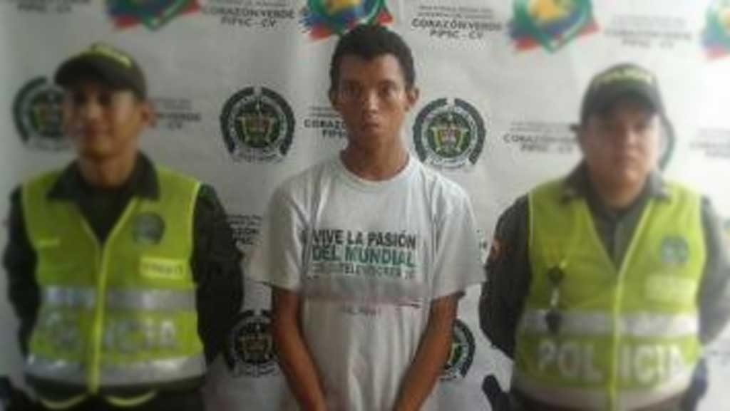 Robinson Enrique Vergara, sindicado de abuso sexual contra un menor de edad, en San Jacinto, Bolívar.