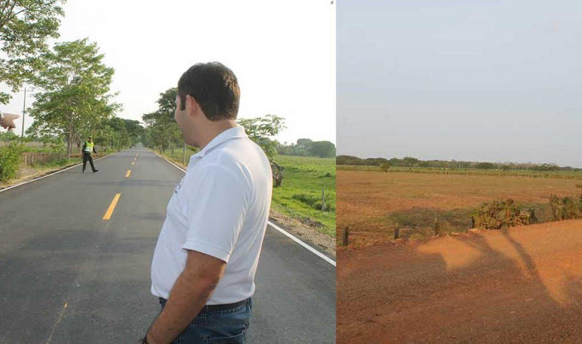 3 mil 280 millones de pesos se invirtieron en pavimentación y mejoramiento de tramos en el municipio de Chimá.