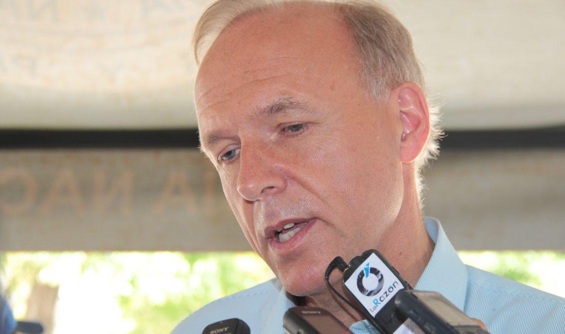 Lars Vaagen, embajador de Noruega en Colombia. El embajador, visitó la capital cordobesa con el objetivo de mirar cómo evoluciona el proceso de post conflicto en esta Región del País.