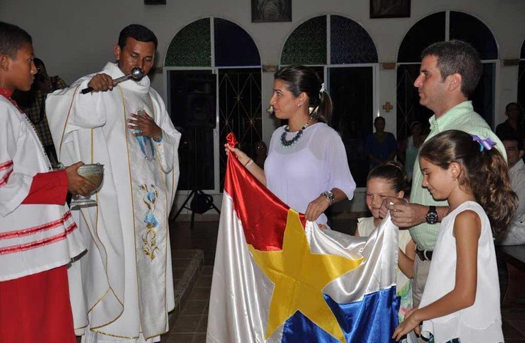 En el marco de la celebración de los 237 años de la capital cordobesa, asistieron autoridades civiles y militares de la ciudad.