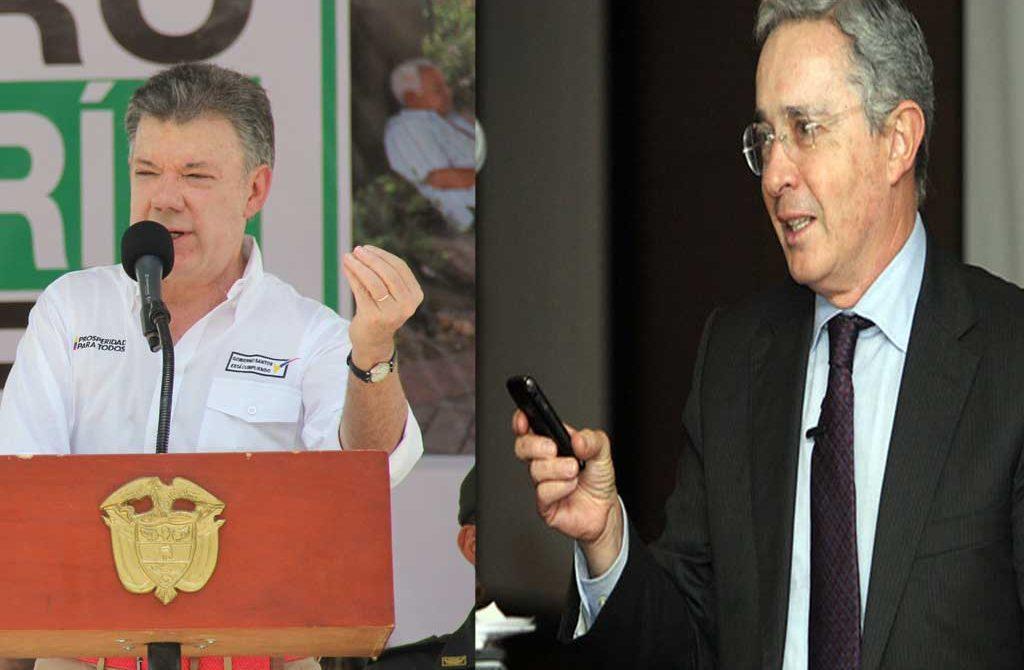 Está pelea no tiene fin, entre el presidente actual y el ex mandatario Uribe Vélez.