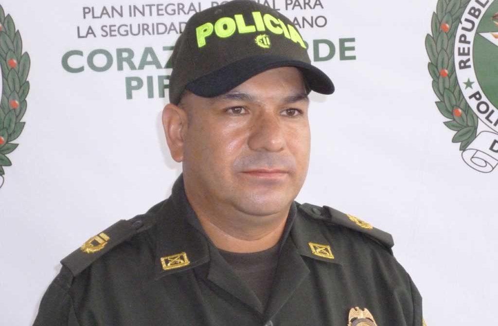 Javier Josué Martín Gámez, comandante de la Policía MEMONT.