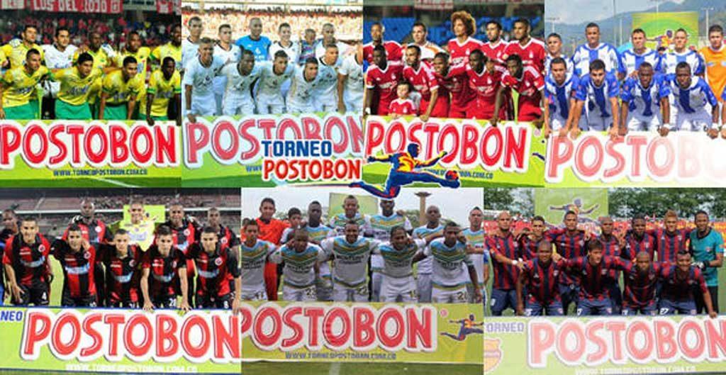 Definidos siete de los ochos clasificados, a los cuadrangulares del Torneo Postobón.