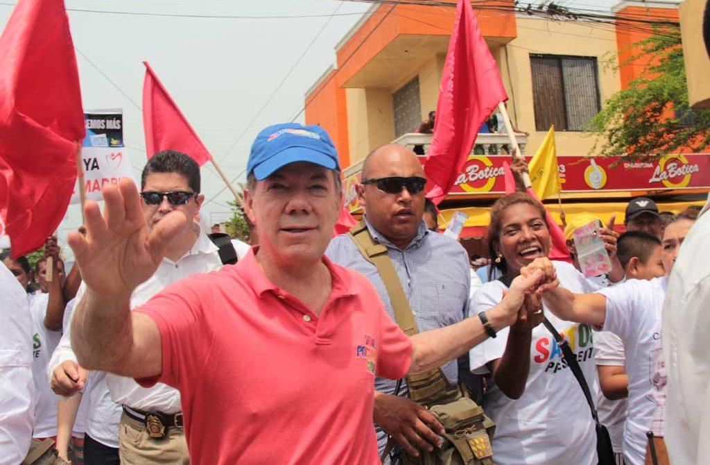 Santos, indicó que con el fin del conflicto, los colombianos serán los beneficiados.