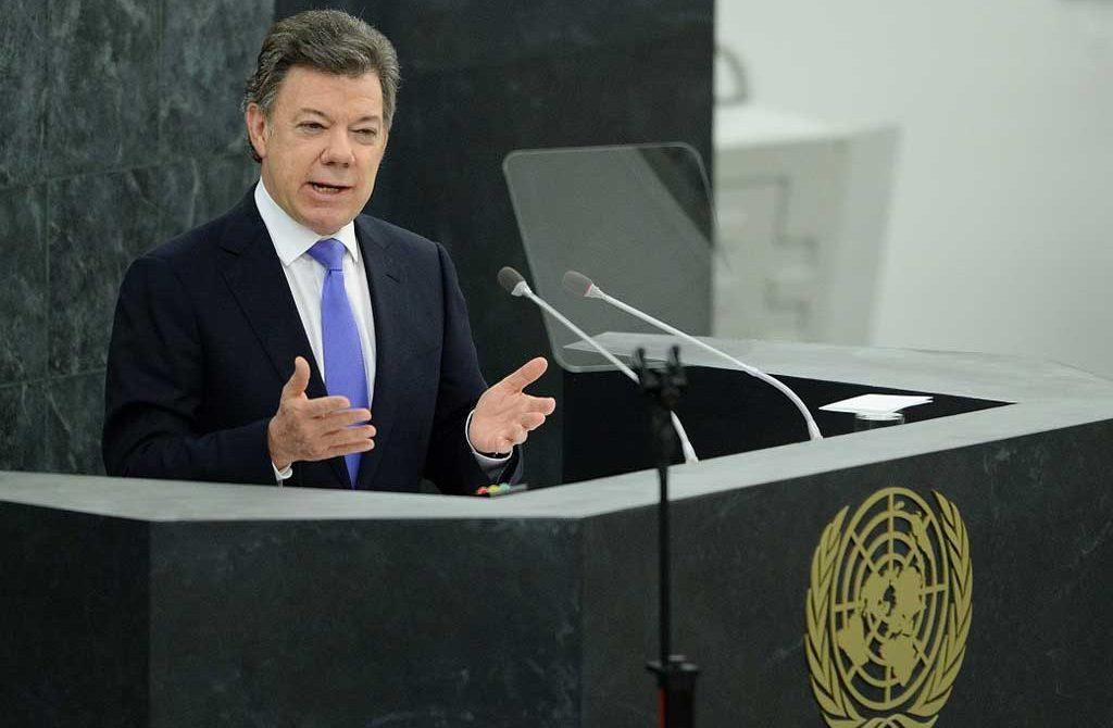 El mandatario de los colombianos tendrá como tema principal el proceso de paz que se lleva en la Habana, Cuba, ante la Organización de las Naciones Unidas.