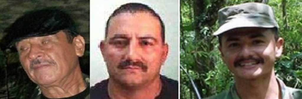 Alias Isaías Trujillo, y Alias Otoniel, señalados por la Policía como responsables del ataque en Córdoba que dejó siete uniformados muertos.