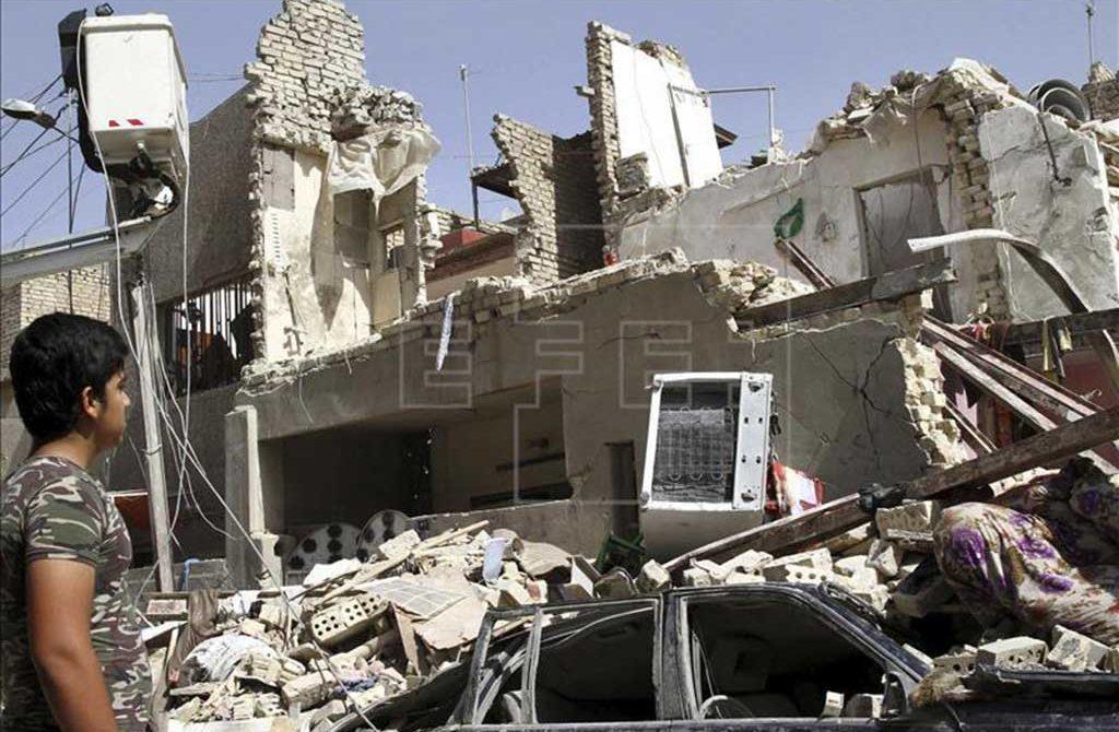 Al menos 35 muertos y 80 heridos en ataques suicidas contra fuerzas iraquíes