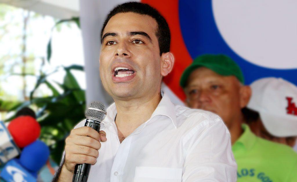 Carlos Gómez Espitia, candidato a la Gobernación de Córdoba por el Partido Cambio Radical.