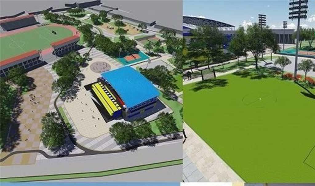 En Diciembre será entregado el Complejo Deportivo de Montelíbano