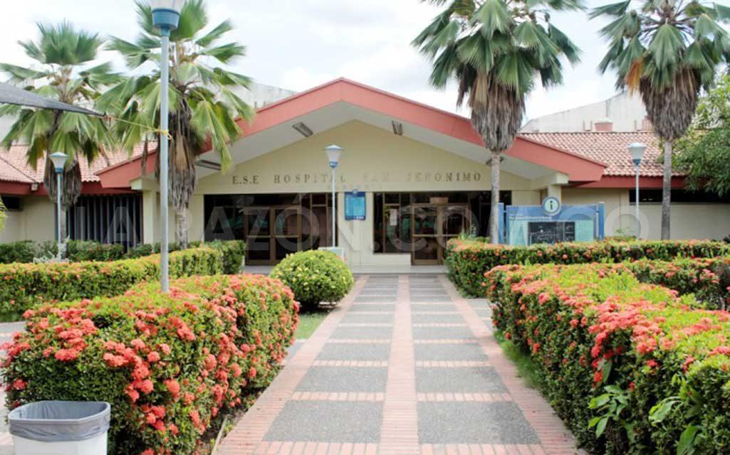 Hospital san jerónimo, Montería, intervenido