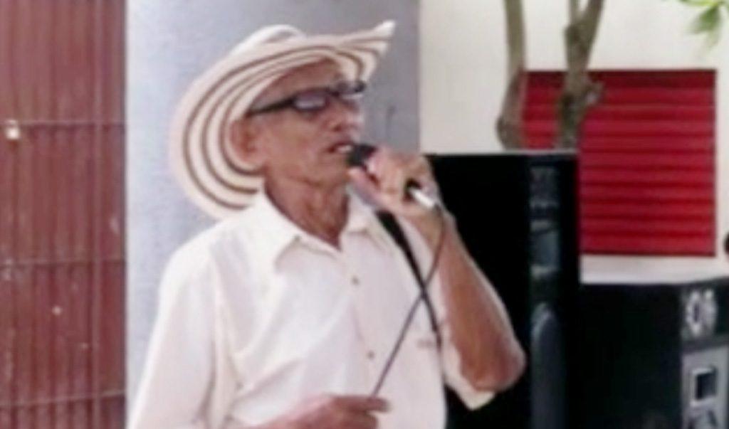 El juglar y decimero Marceliano Mejía Carmona, murió en la madrugada de este lunes 20 de julio, en su residencia del barrio el Dorado de Montería.