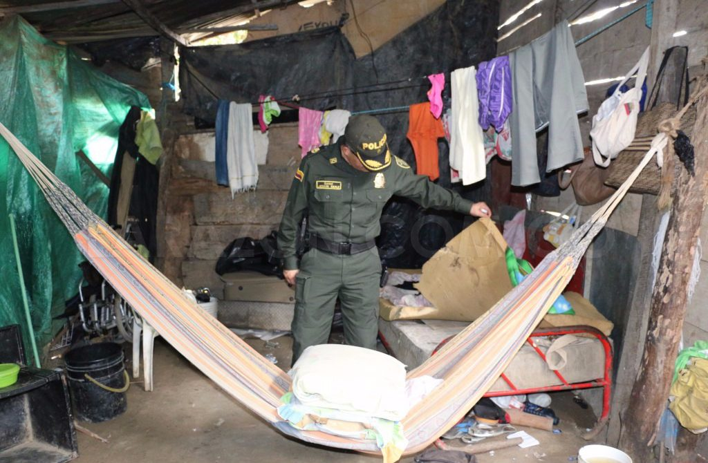 Policía desmanteló centro de acopio de alucinógenos en el barrio Sucre
