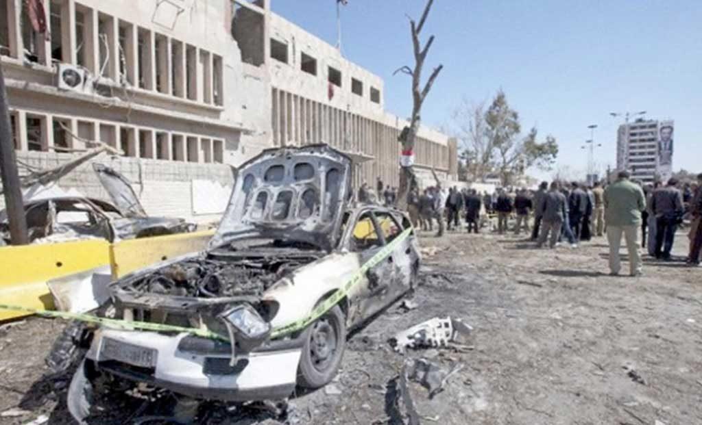 Al menos 50 muertos y 180 heridos por ataques en Damasco y su periferia