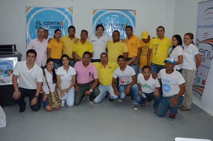 Carlos Ordosgoitia firmó acuerdo programático con aspirantes al concejo por el polo democrático