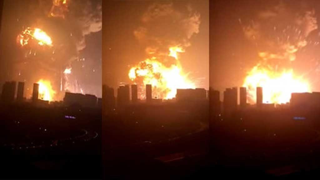 Fuerte explosión en China deja al menos 7 muertos y 300 heridos