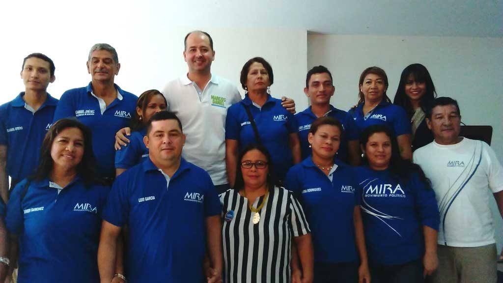 Marcos Daniel y movimiento MIRA firman Acuerdos Programáticos