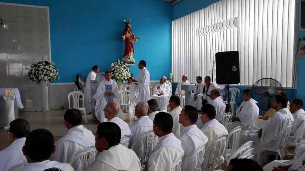 Se ofició Misa de Desagravio en iglesia donde fue brutalmente asesinado el Padre León