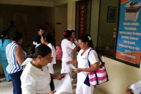 Empleados del Hospital San Jerónimo, denuncian despidos masivos