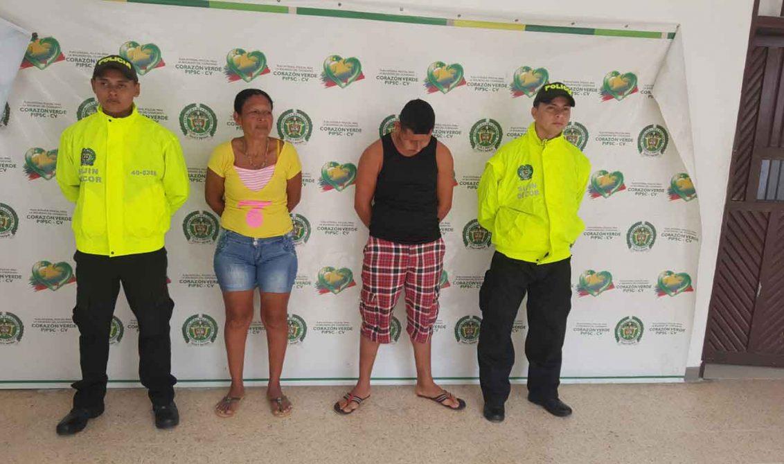 Madre e hijo vendían droga en su casa, Policía los capturó