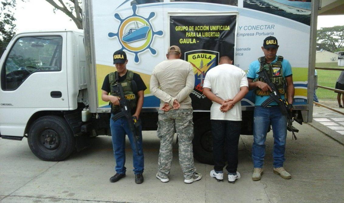 Caen en flagrancia dos sujetos que se hacían pasar por integrantes de la Fuerza Pública.