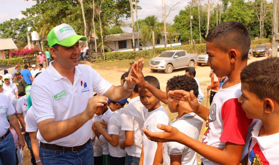 Gobierno de Montería realizó encuentro rural en Nueva Esperanza y La Manta