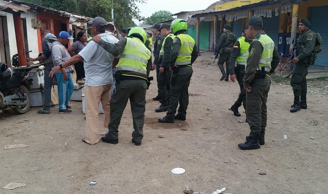 Policía Metropolitana desarrolló operativos en Ciénaga de Oro
