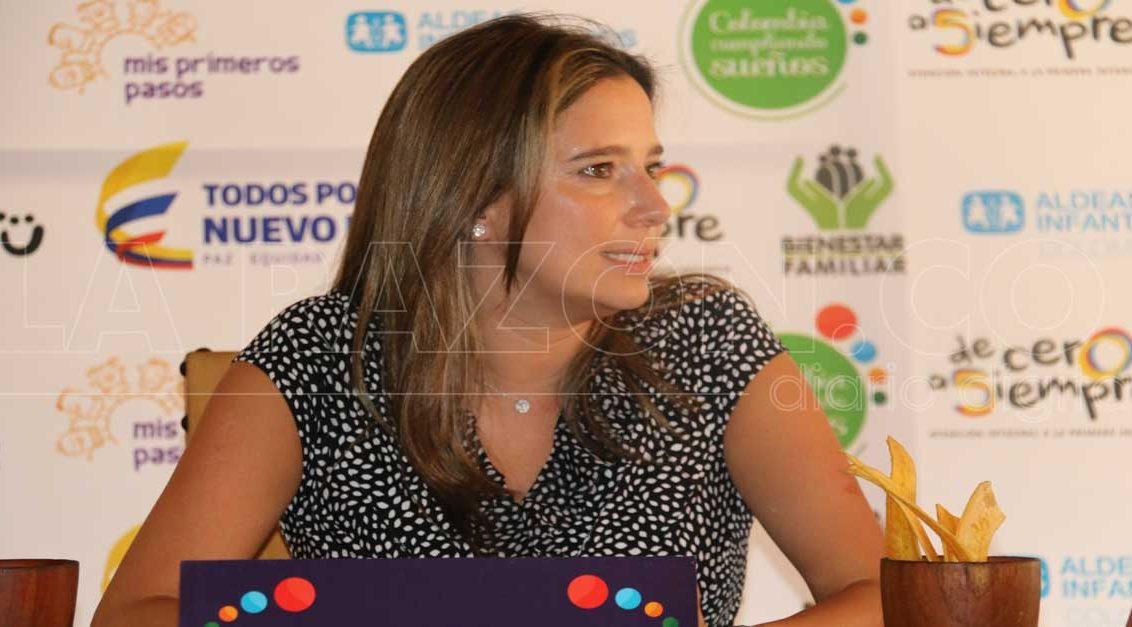 Cristina plaza solicitó apoyo ante el Congreso