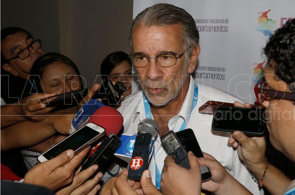 Eduardo Verano de la Rosa, Gobernador del Atlántico