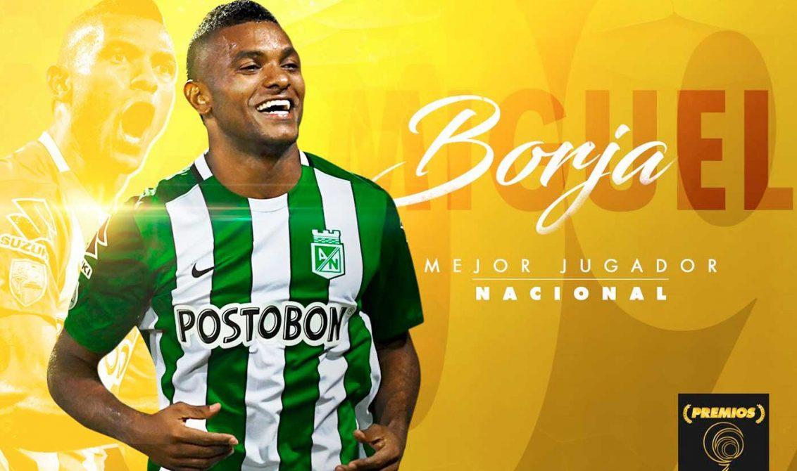 Miguel Ángel Borja, Mejor jugador del año 2016 en Colombia