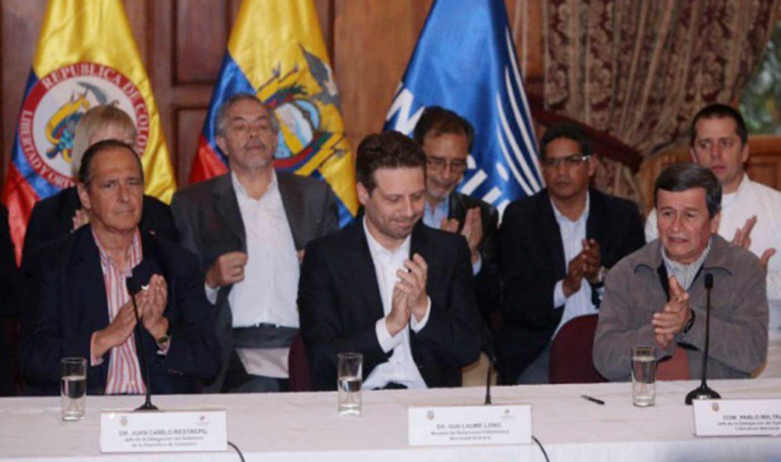 Comisión de las Farc ya está en Ecuador en diálogo con Eln