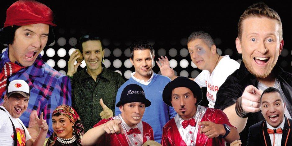 humoristas colombianos