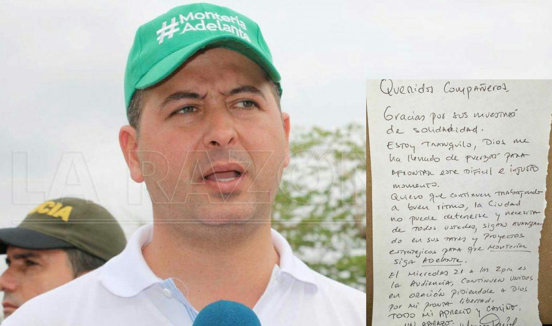 Piden revocar la libertad a alcalde y exalcalde de Montería