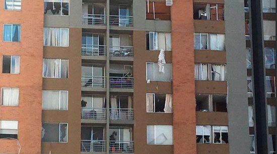 Explosión en el norte de Bogotá deja 26 heridos