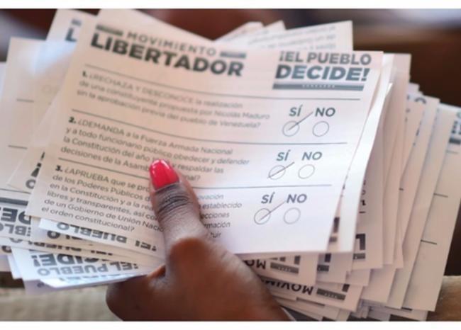 Convocan a paro nacional vs Maduro