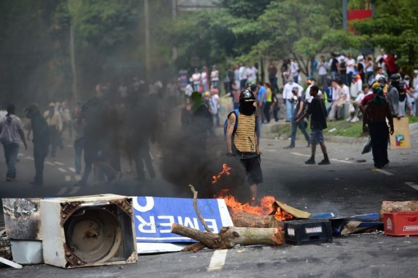 Violentas protestas marcan elección de la Constituyente en Venezuela