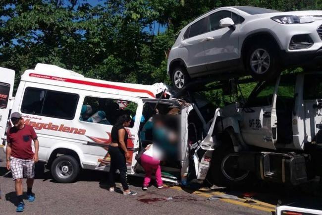10 muertos en accidente de tránsito en Barrancabermeja