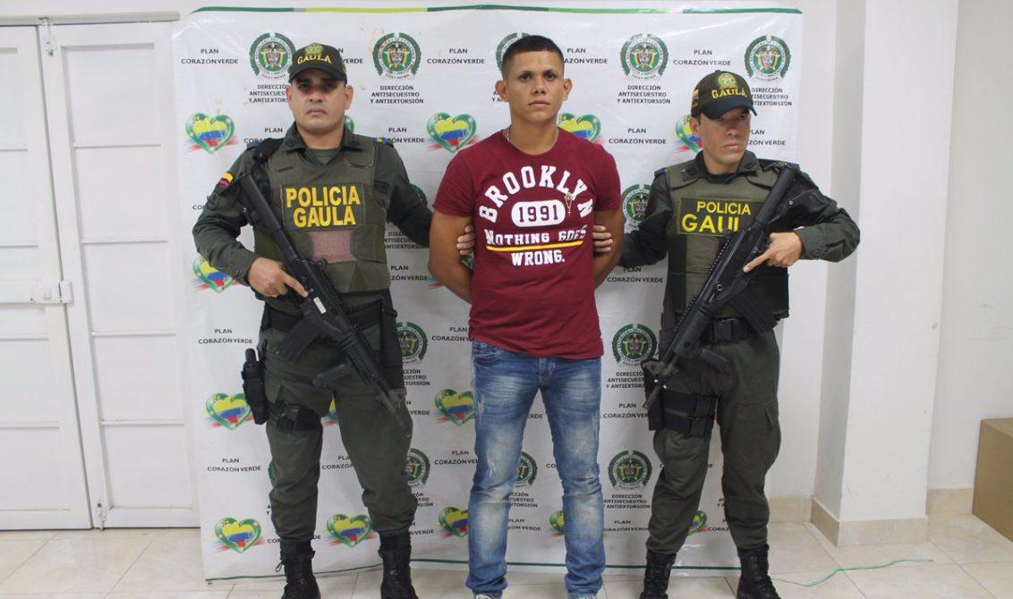 COLOMBIA: Capturado 'El Zurdo', sindicado de cobrar extorsiones en Córdoba